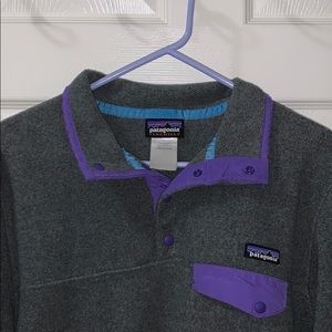Patagonia Synchilla Snap T pullover jacket